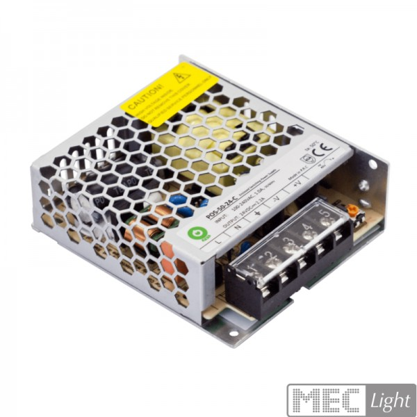 LED Trafo SMD Montage Netzteil 12V/DC 50W 4,2A (POS-50-12-C) Power Supply