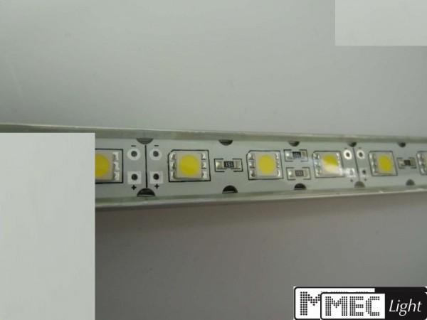 (24€/m) 50cm LED/SMD Leiste 30x LEDs in warm weiß 12V wasserfest IP64 0,50m
