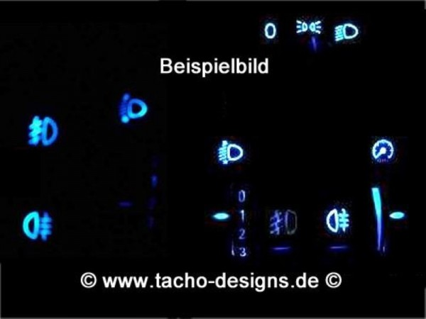 Blaue Schalter Opel Astra G Zafira Agila A