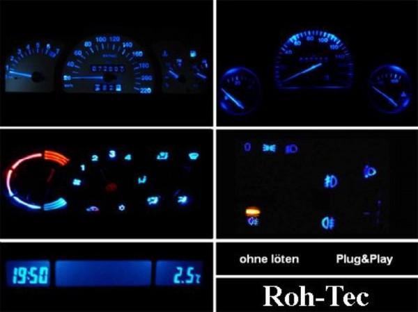 Blaues Komplettset Corsa B Combo B Tigra Astra F