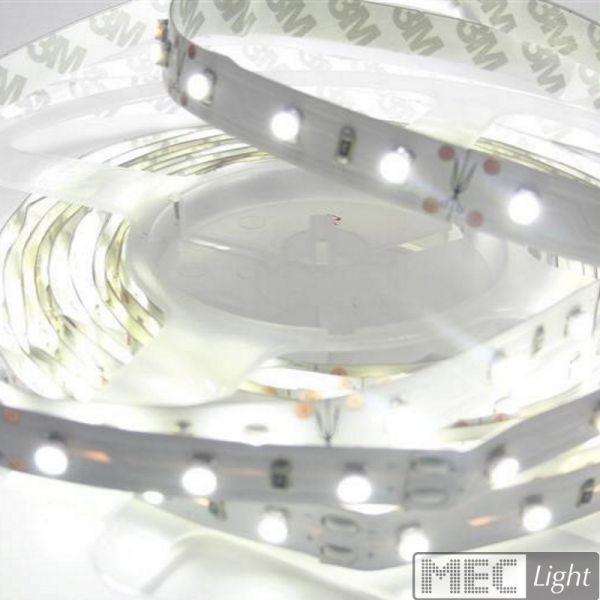 1m LED Streifen 24V 6W 510Lm 60x SMD2835/m neutral weiß (4000K) Stripe IP20