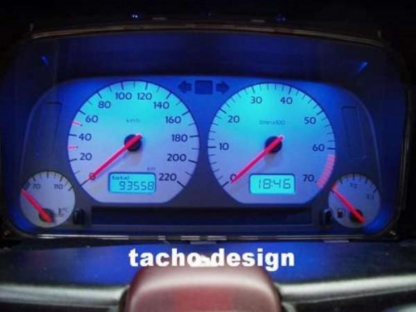Blauer Tacho Golf 3 Passat Polo 6n