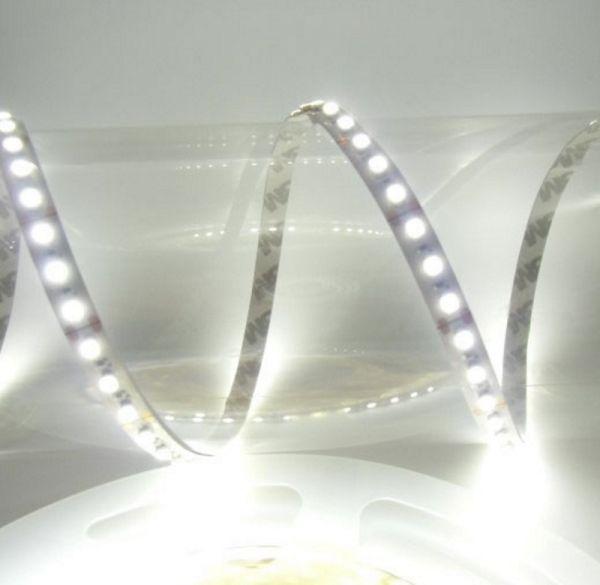 1m LED Streifen 12V 19,2W 2000Lm 120x SMD2835/m kalt weiß (6500K) Ra=90 IP66